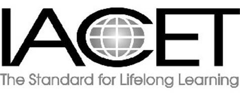 IACET THE STANDARD FOR LIFELONG LEARNING