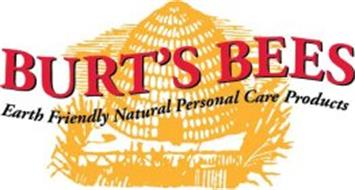 BURT'S BEES EARTH FRIENDLY NATURAL PERSONAL CARE PRODUCTS