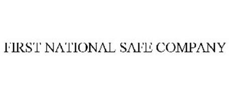 FIRST NATIONAL SAFE COMPANY