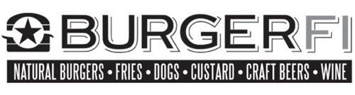 BURGERFI NATURAL BURGERS FRIES DOGS CUSTARD CRAFT BEERS WINE