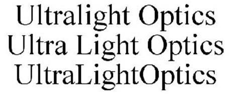 ULTRALIGHT OPTICS ULTRA LIGHT OPTICS ULTRALIGHTOPTICS