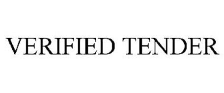VERIFIED TENDER