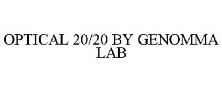 OPTICAL 20/20 BY GENOMMA LAB