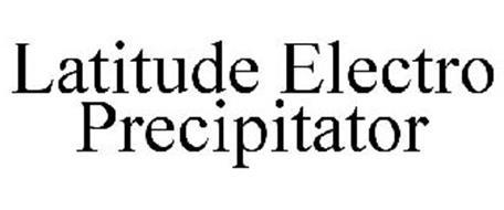 LATITUDE ELECTRO PRECIPITATOR