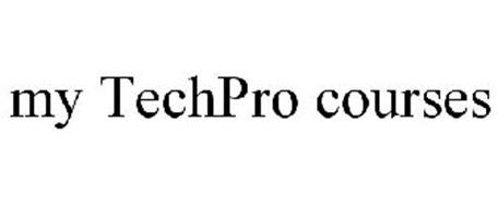 MY TECHPRO COURSES