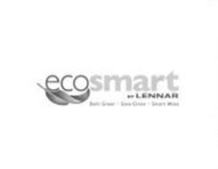 ECOSMART BY LENNAR BUILT GREEN · SAVE GREEN · SMART MOVE