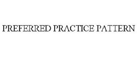 PREFERRED PRACTICE PATTERN