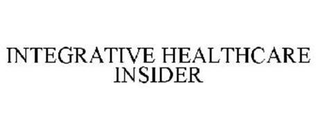 INTEGRATIVE HEALTHCARE INSIDER