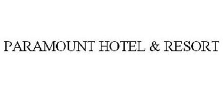 PARAMOUNT HOTELS & RESORTS