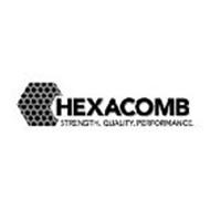 HEXACOMB STRENGTH. QUALITY. PERFORMANCE.