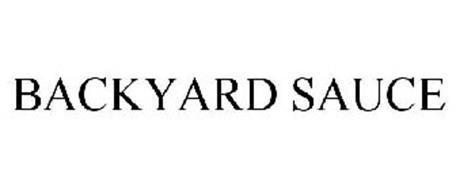 BACKYARD SAUCE