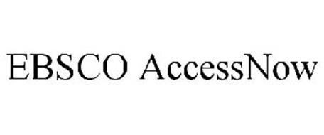 EBSCO ACCESSNOW