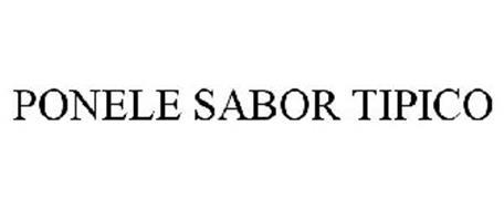PONELE SABOR TIPICO