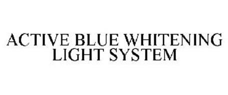 ACTIVE BLUE WHITENING LIGHT SYSTEM
