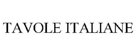 TAVOLE ITALIANE