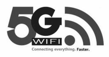 5G WIFI CONNECTING EVERYTHING. FASTER.