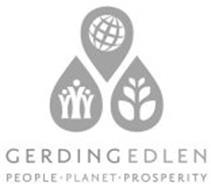 GERDING EDLEN PEOPLE PLANET PROSPERITY