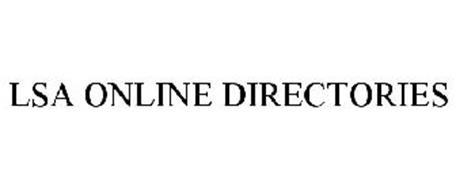 LSA ONLINE DIRECTORIES
