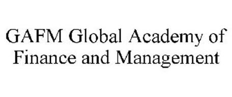 GAFM GLOBAL ACADEMY OF FINANCE AND MANAGEMENT