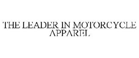 THE LEADER IN MOTORCYCLE APPAREL