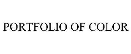 PORTFOLIO OF COLOR