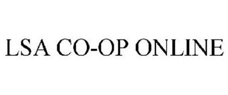 LSA CO-OP ONLINE