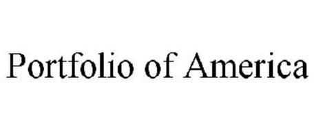 PORTFOLIO OF AMERICA