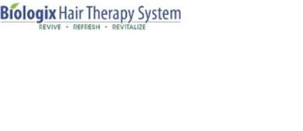 BIOLOGIX HAIR THERAPY SYSTEM REVIVE · REFRESH · REVITALIZE