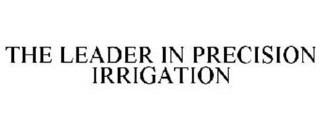 THE LEADER IN PRECISION IRRIGATION