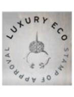 LUXURY ECO STAMP OF APPROVAL