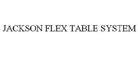 JACKSON FLEX TABLE SYSTEM