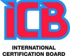 ICB INTERNATIONAL CERTIFICATION BOARD