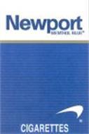 Newport Menthol Blue Cigarettes