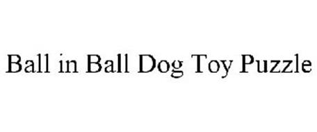 BALL IN BALL DOG TOY PUZZLE