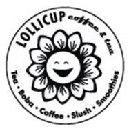 LOLLICUP COFFEE & TEA · TEA · BOBA · COFFEE · SLUSH · SMOOTHIES