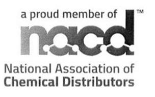 A PROUD MEMBER OF NACD NATIONAL ASSOCIATION OF CHEMICAL DISTRIBUTORS