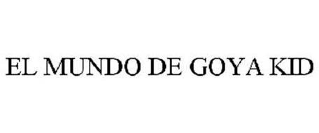 EL MUNDO DE GOYA KID