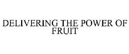 DELIVERING THE POWER OF FRUIT