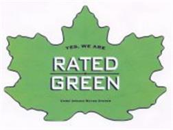 YES, WE ARE RATED GREEN USING IONIZED WATER SYSTEM