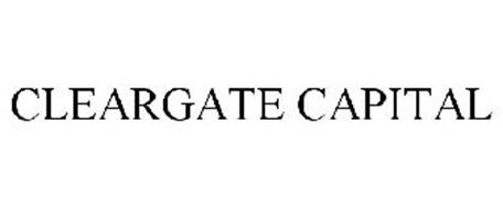 CLEARGATE CAPITAL