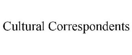 CULTURAL CORRESPONDENTS