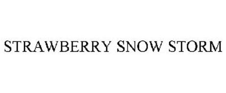 STRAWBERRY SNOW STORM