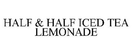 HALF & HALF ICED TEA LEMONADE