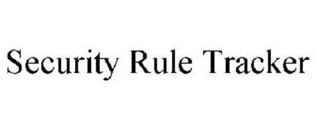 SECURITY RULE TRACKER