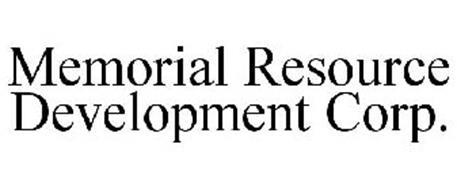 MEMORIAL RESOURCE DEVELOPMENT CORP.