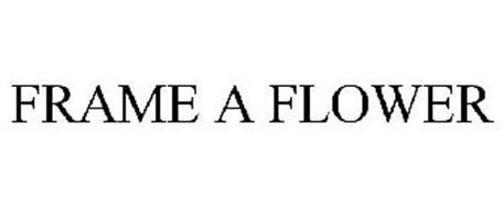 FRAME A FLOWER