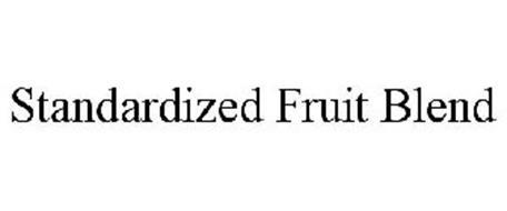 STANDARDIZED FRUIT BLEND