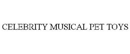 CELEBRITY MUSICAL PET TOYS