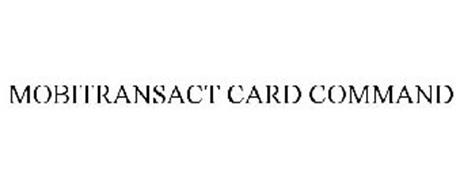 MOBITRANSACT CARD COMMAND