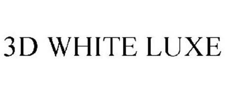 3D WHITE LUXE